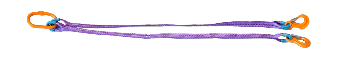 Двухветвевой строп текстильный (2СТ)