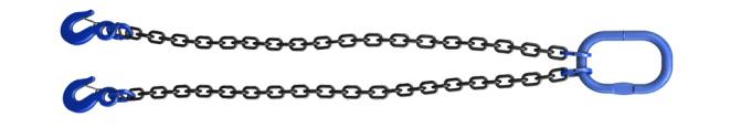 Двухветвевой строп цепной 2СЦ - класс стали 10