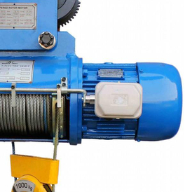 Электрическая канатная таль TBM тип CD с тележкой