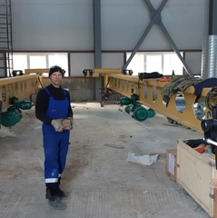 В Морской порт Суходол компанией ООО «Грузоподъемспецтехника-Находка» были изготовлены и установлены:  Кран подвесной однобалочный г/п 2,0т, г/п 5,0т, Кран консольный г/п 0,25т, г/п 0,5т