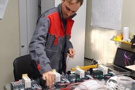 Сборка электро щитов на краны мостовые