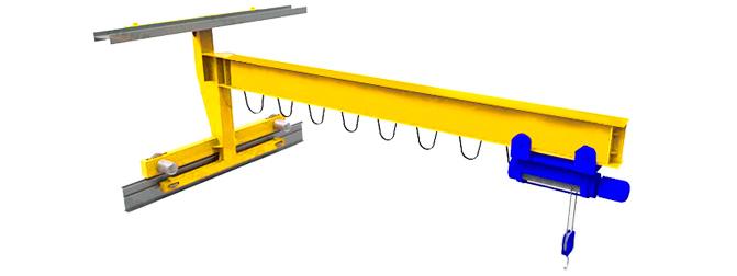 Кран консольный передвижной настенный электрический