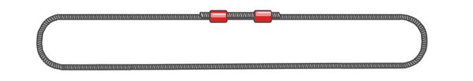 Универсальный строп канатный (УСК2) кольцевой