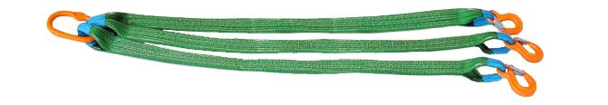 Трехветвевой строп текстильный (3СТ)