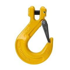 Крюк с вилочным креплением с предохранительной защелкой SALKH