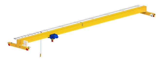 Кран мостовой опорный однобалочный